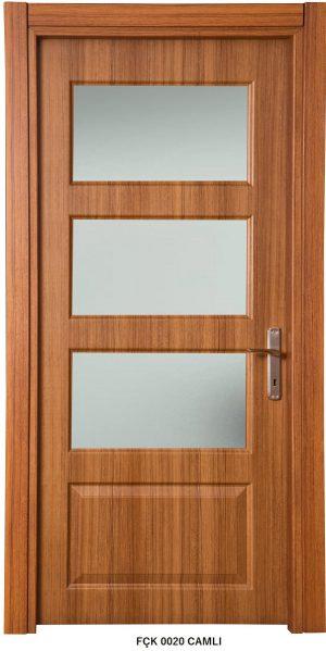Fırat Çelik Kapı 0020 Camlı Modeli İç Kapısı