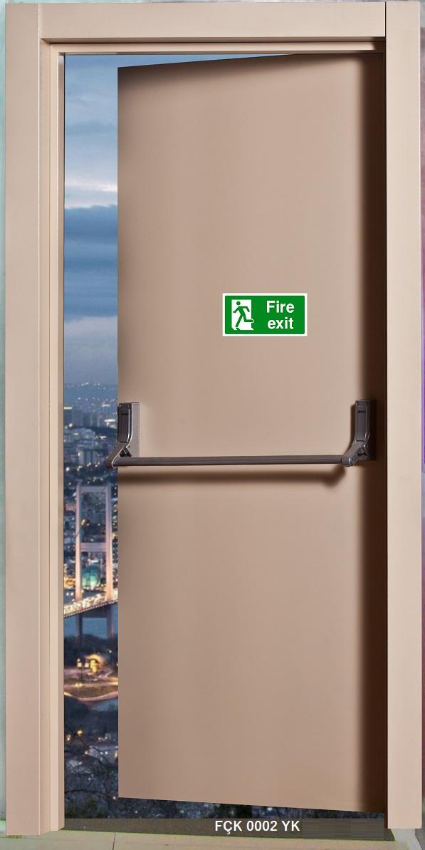 Fırat Çelik Kapı 0001 0002 0003 Modeli Yangın Kapısı