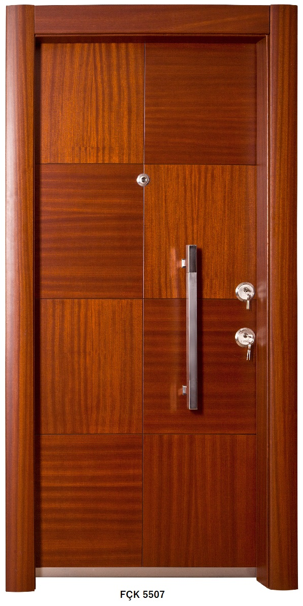 Fırat Çelik Kapı FÇK 5507 Modeli Ceres Lüx Freze