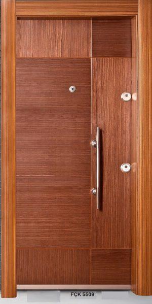 Fırat Çelik Kapı FÇK 5509 Modeli Ceres Lüx Freze