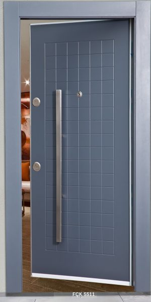 Fırat Çelik Kapı 5511 Modeli Ceres Lüx Freze