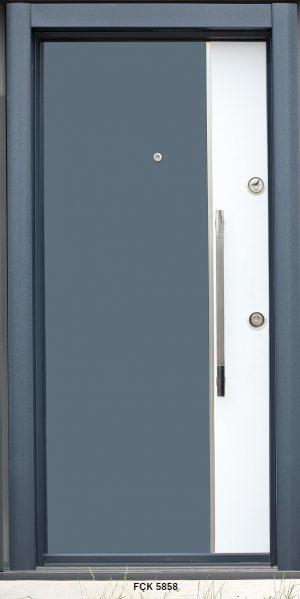 Fırat Çelik Kapı FÇK 5858 Modeli Ceres Lüx Freze