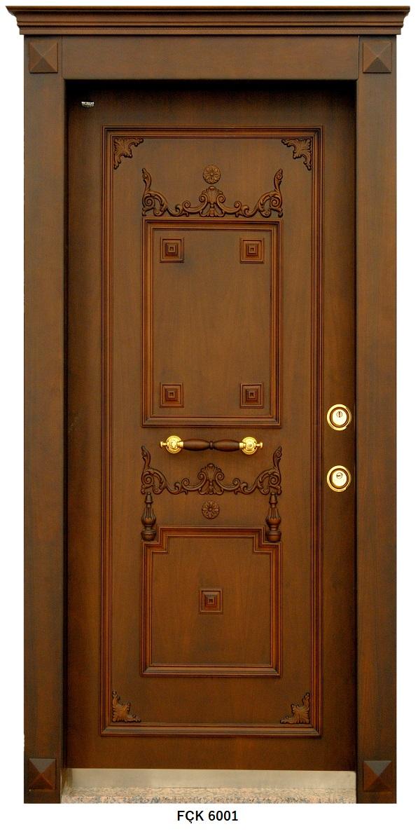 Fırat Çelik Kapı 6001 Modeli Sarin Lüx Kabartma