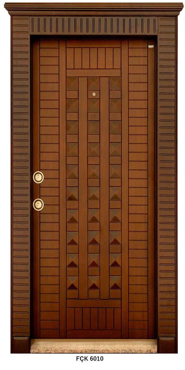 Fırat Çelik Kapı 6010 Modeli Sarin Lüx Kabartma