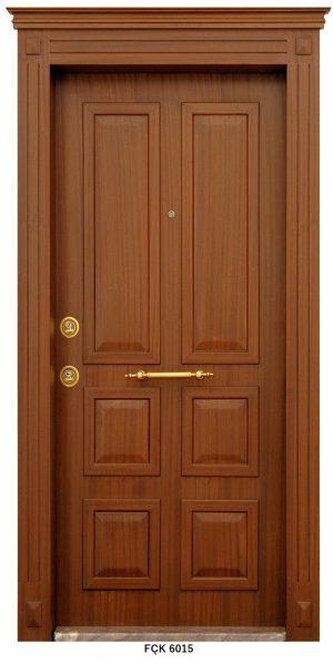 Fırat Çelik Kapı 6015 Modeli Sarin Lüx Kabartma