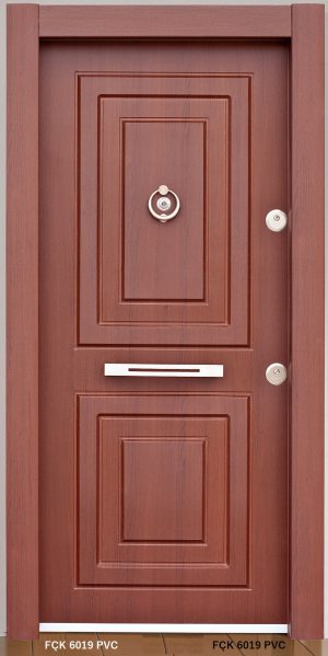 Fırat Çelik Kapı 6019 PVC Modeli Ceres Lüx Freze