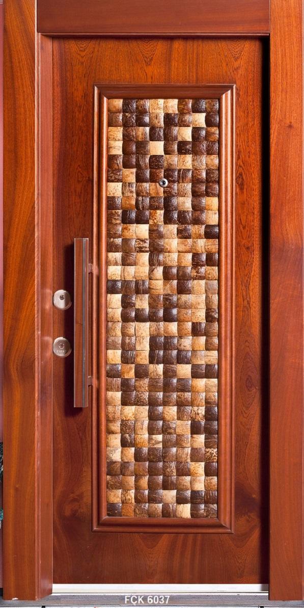 Fırat Çelik Kapı 6037 Modeli Sarin Lüx Kabartma