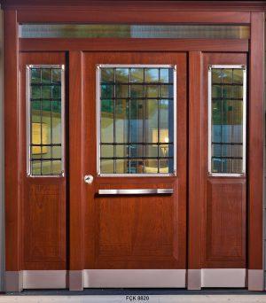 Fırat Çelik Kapı 9920 Modeli Bina Giriş Kapısı