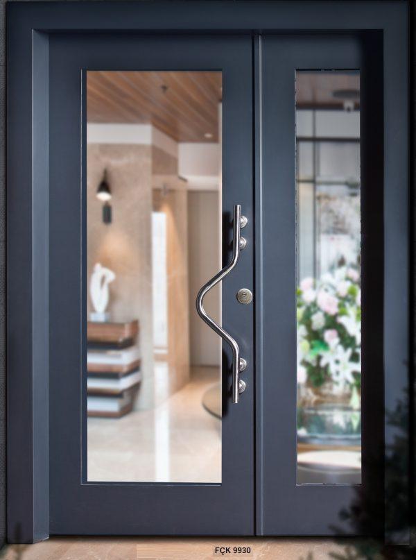 Fırat Çelik Kapı 9930 Modeli Bina Giriş Kapısı