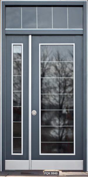 Fırat Çelik Kapı 9940 Modeli Bina Giriş Kapısı
