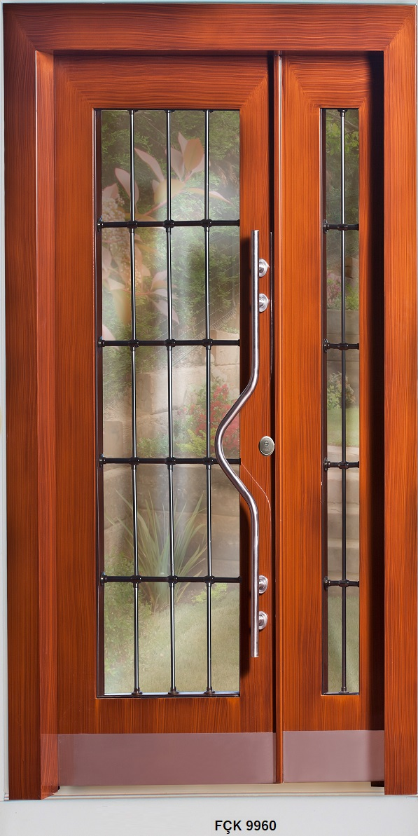 Fırat Çelik Kapı 9960 Modeli Bina Giriş Kapısı