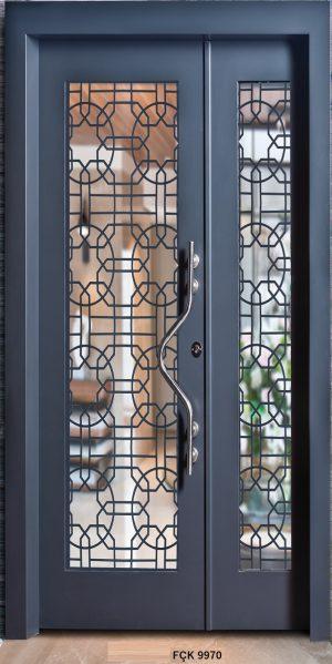 Fırat Çelik Kapı 9970 Modeli Bina Giriş Kapısı
