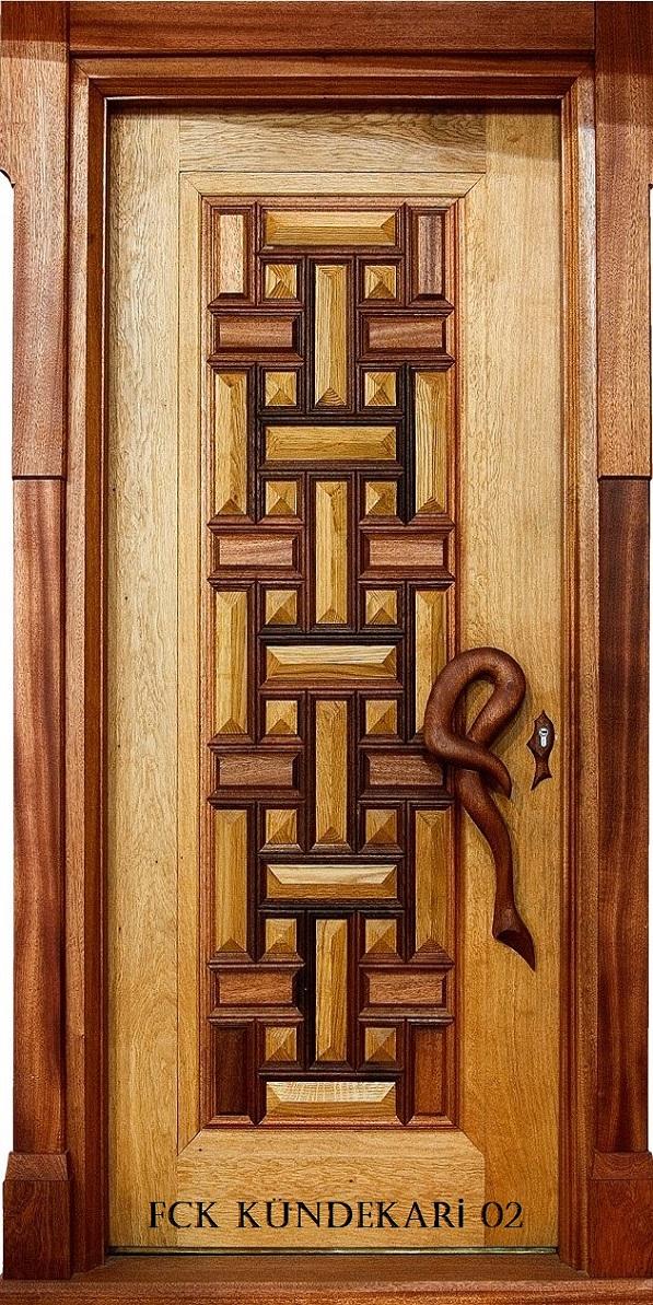 Fırat Çelik Kapı Kündekari Modeli Sarin Lüx Kabartma